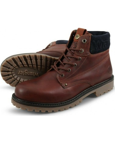 WRANGLER ARCH WM02020A 673 RED BROWN